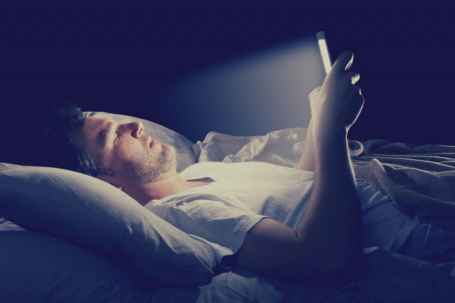 facebook at night