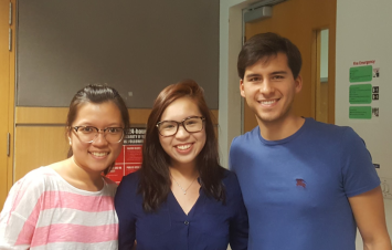 G1 winners, Xue Ling, Samantha, and Marcos
